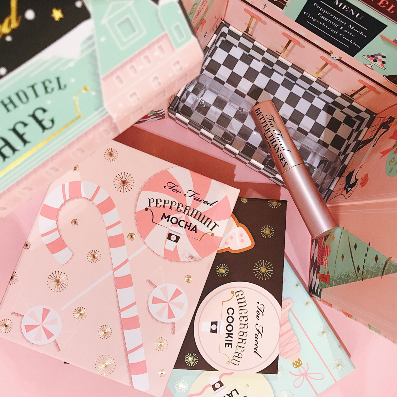 Too Faced Grand Hotel Cafe for Holiday 2016