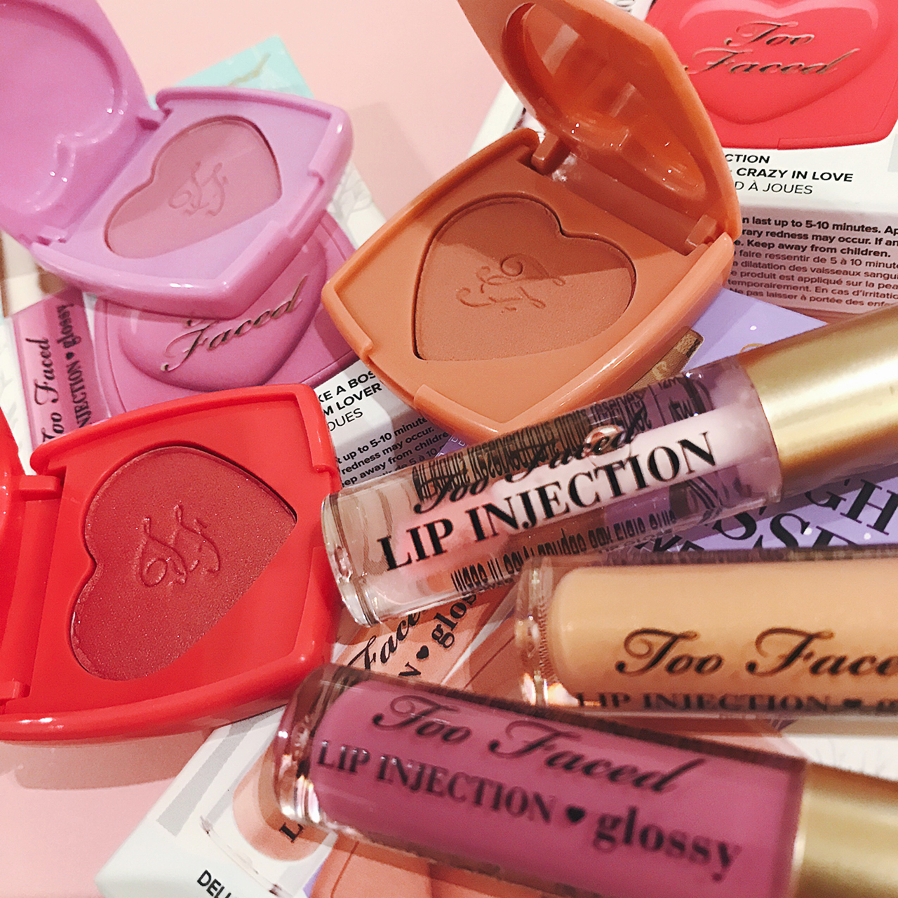 Too Faced Naughty Kisses & Sweet Cheeks. for Holiday 2016