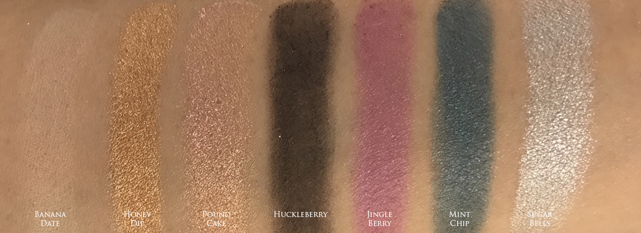 Too Faced The Chocolate Shop - swatches 3