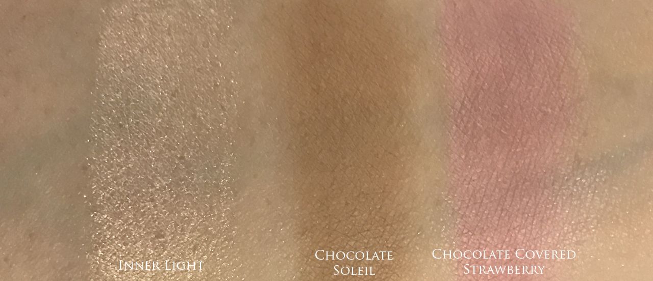 Too Faced The Chocolate Shop for Holiday 2016 - swatches