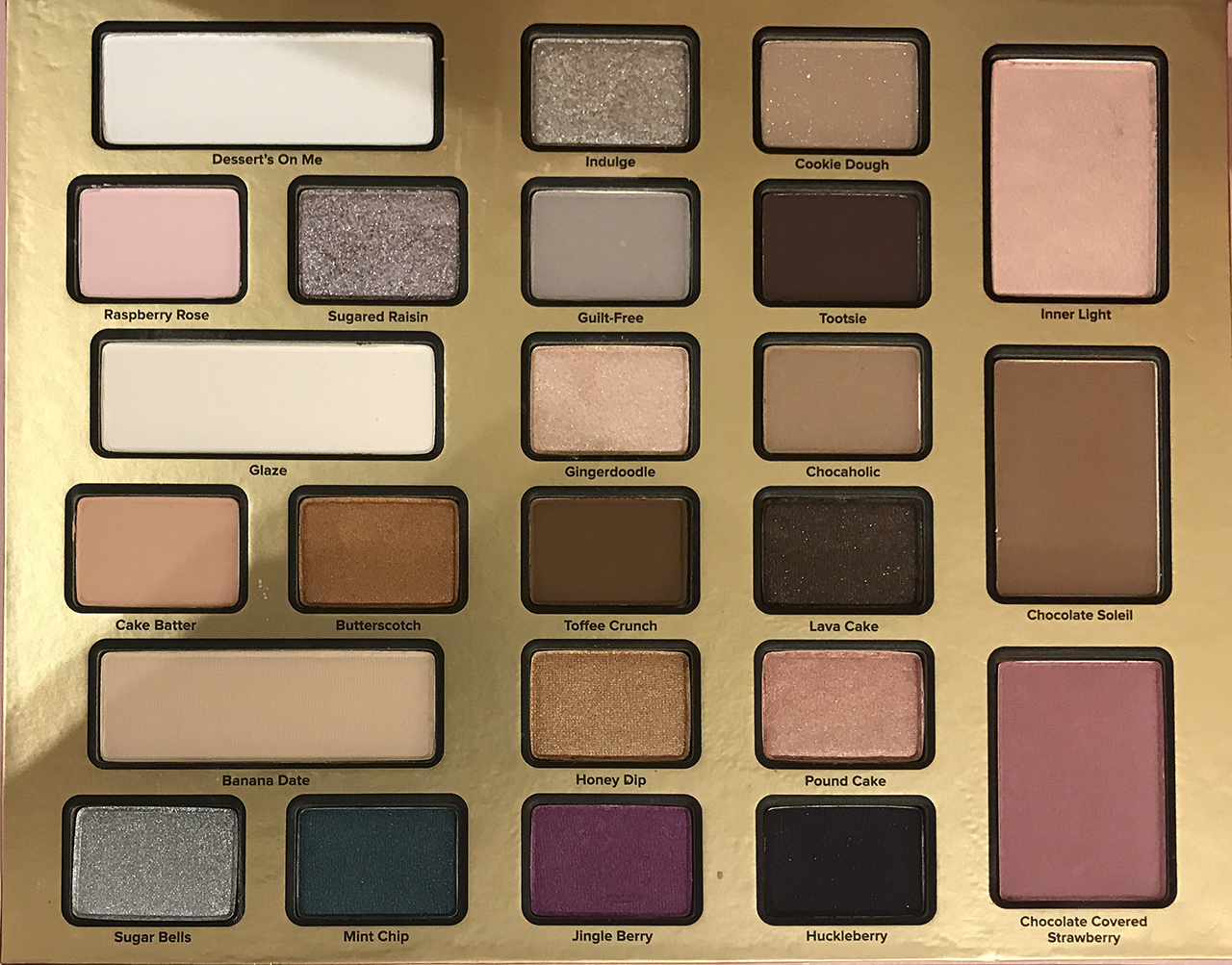 Too Faced The Chocolate Shop for Holiday 2016