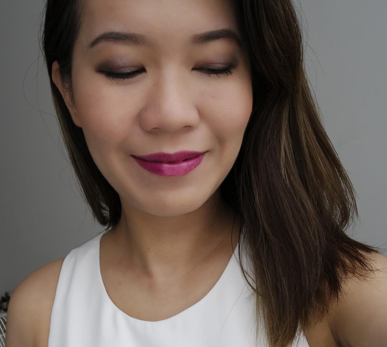 Lancome Audacity Palette makeup look