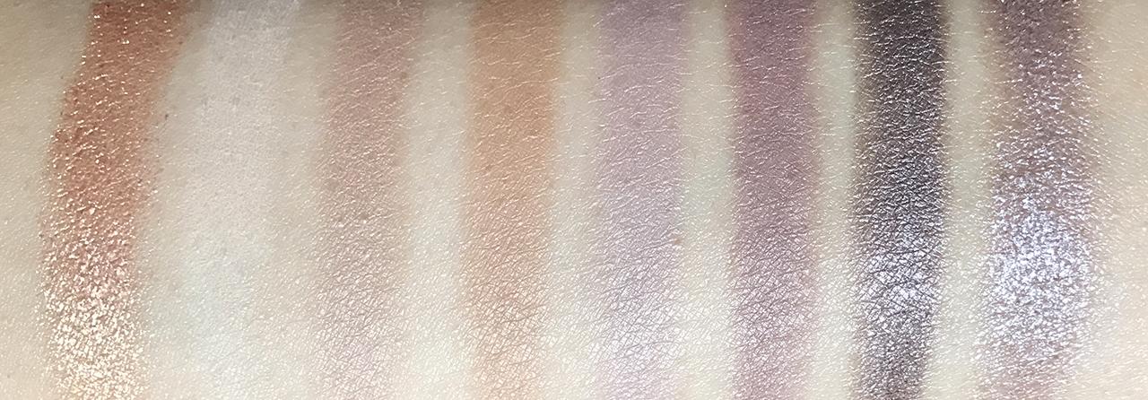 Lancome Audacity Palette swatches