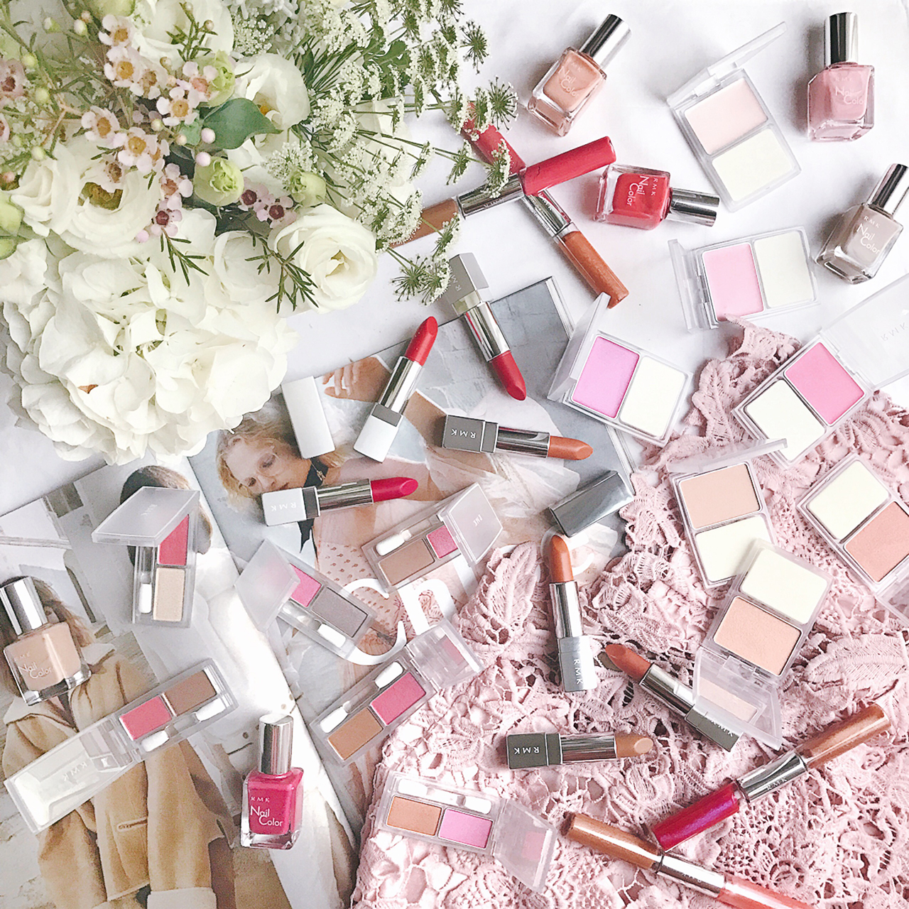 RMK Color Change Collection for Spring 2017