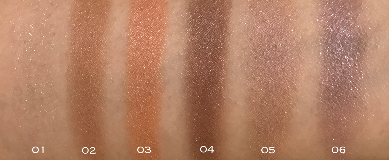 RMK Face Pop Eyes swatches