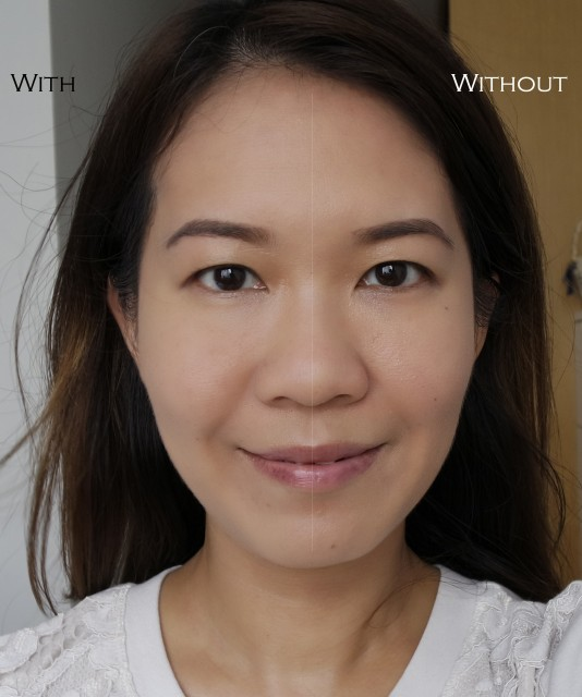 Kanebo Dual Radiance Foundation comparison