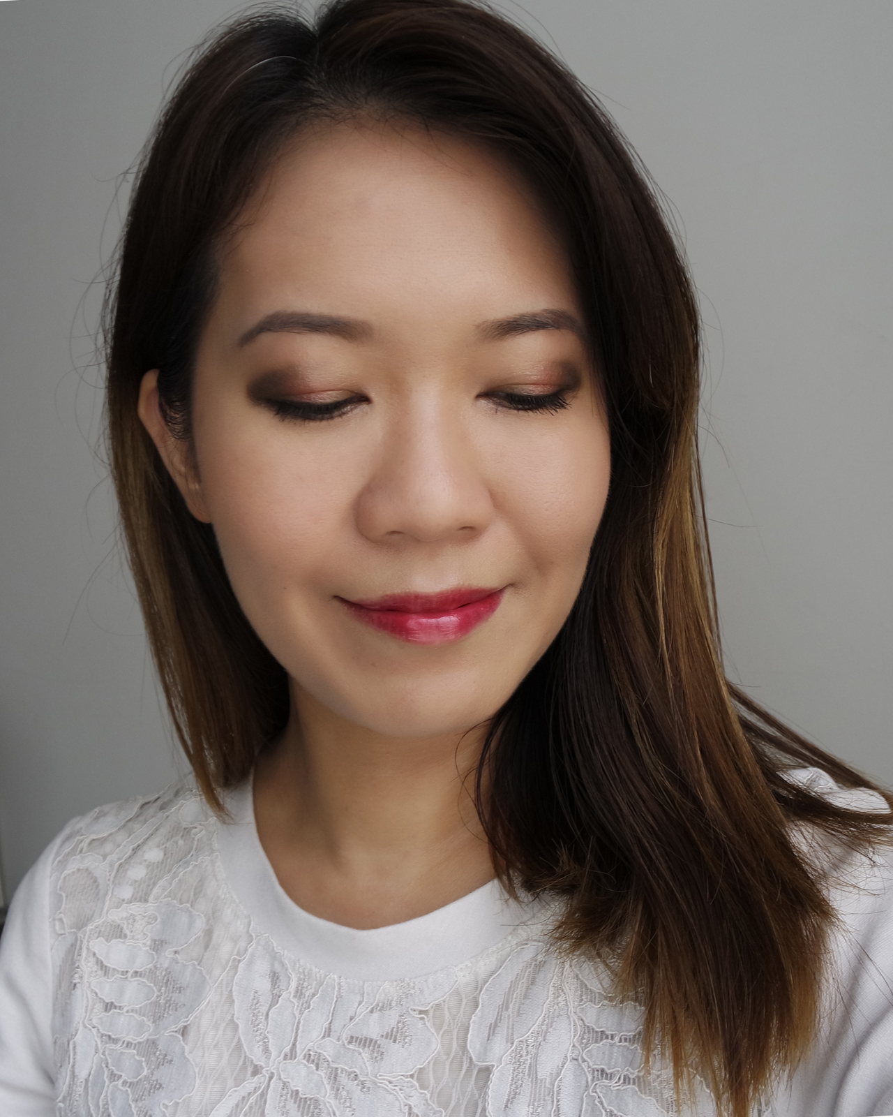 SUQQU Designing Color Eyes 03 & Pure Color Blush 101 makeup look