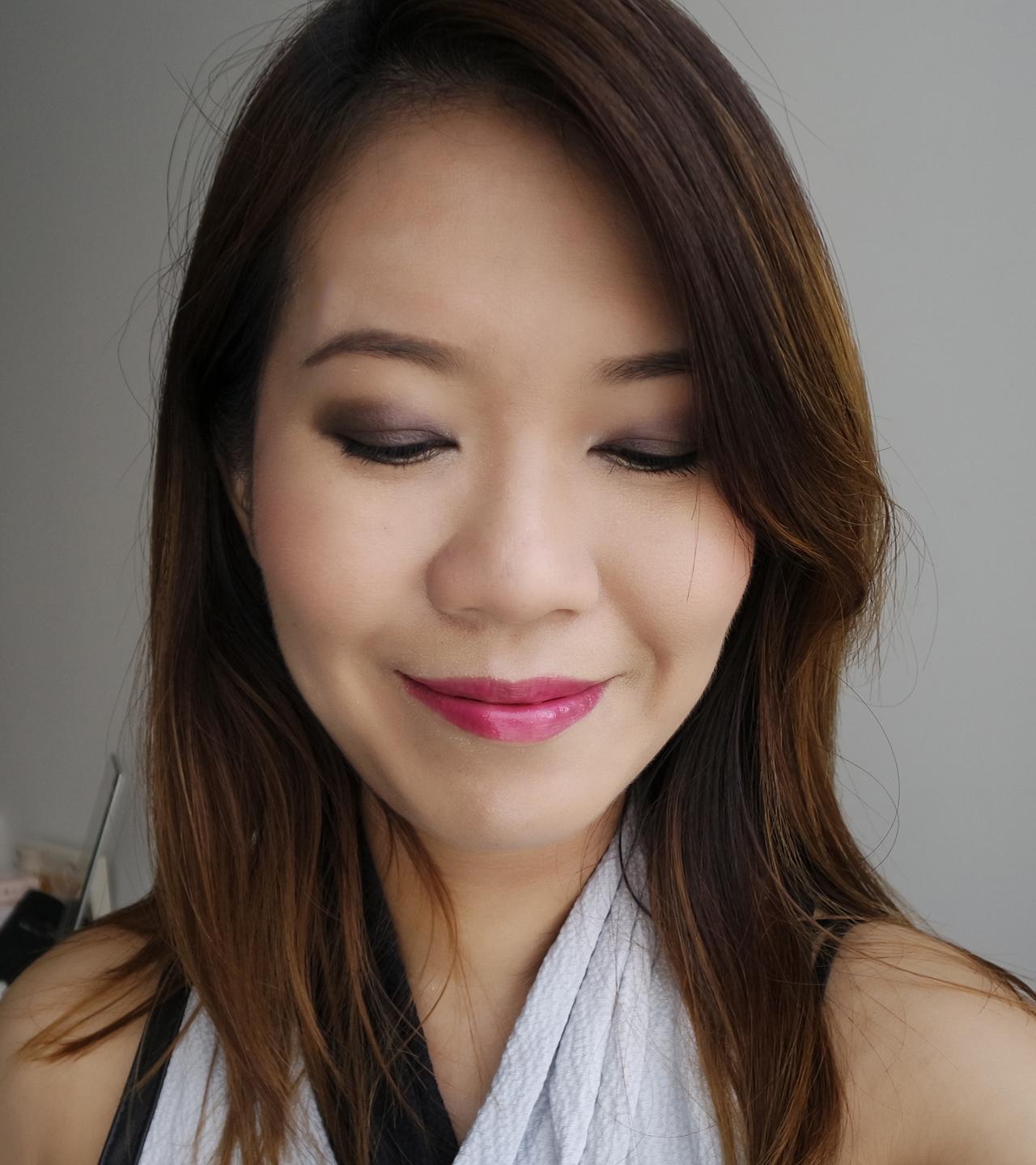 SUQQU Designing Color Eyes 05 Aoshizuku makeup look