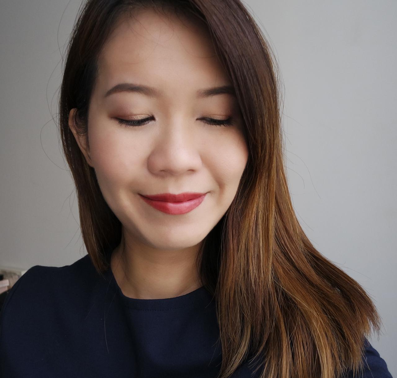 Estee Lauder Pure Color Envy Oil-Infused Sculpting Lipstick makeup look