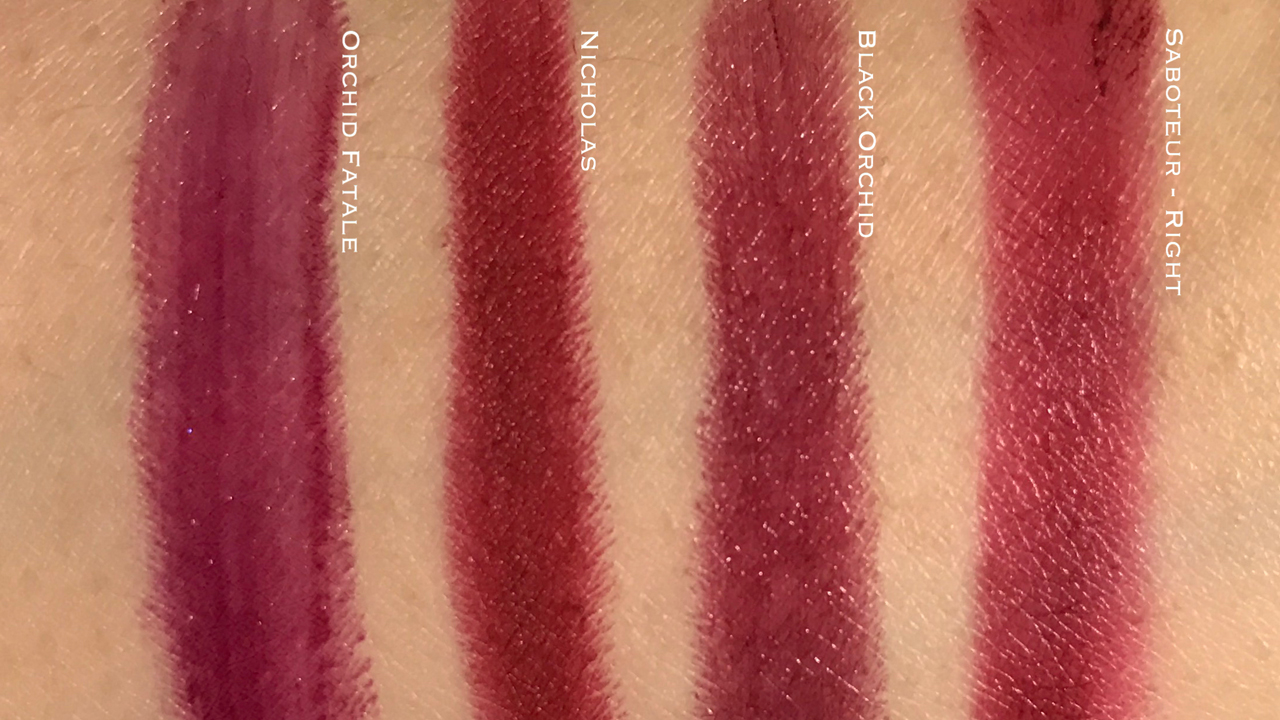 Tom Ford Shade & Illuminate Sabouteur right shade comparison swatches