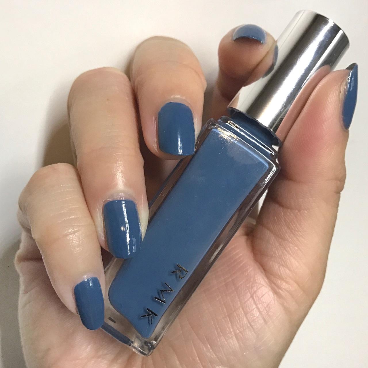 RMK Nail Polish 08(CL) Summer Shower nail swatch
