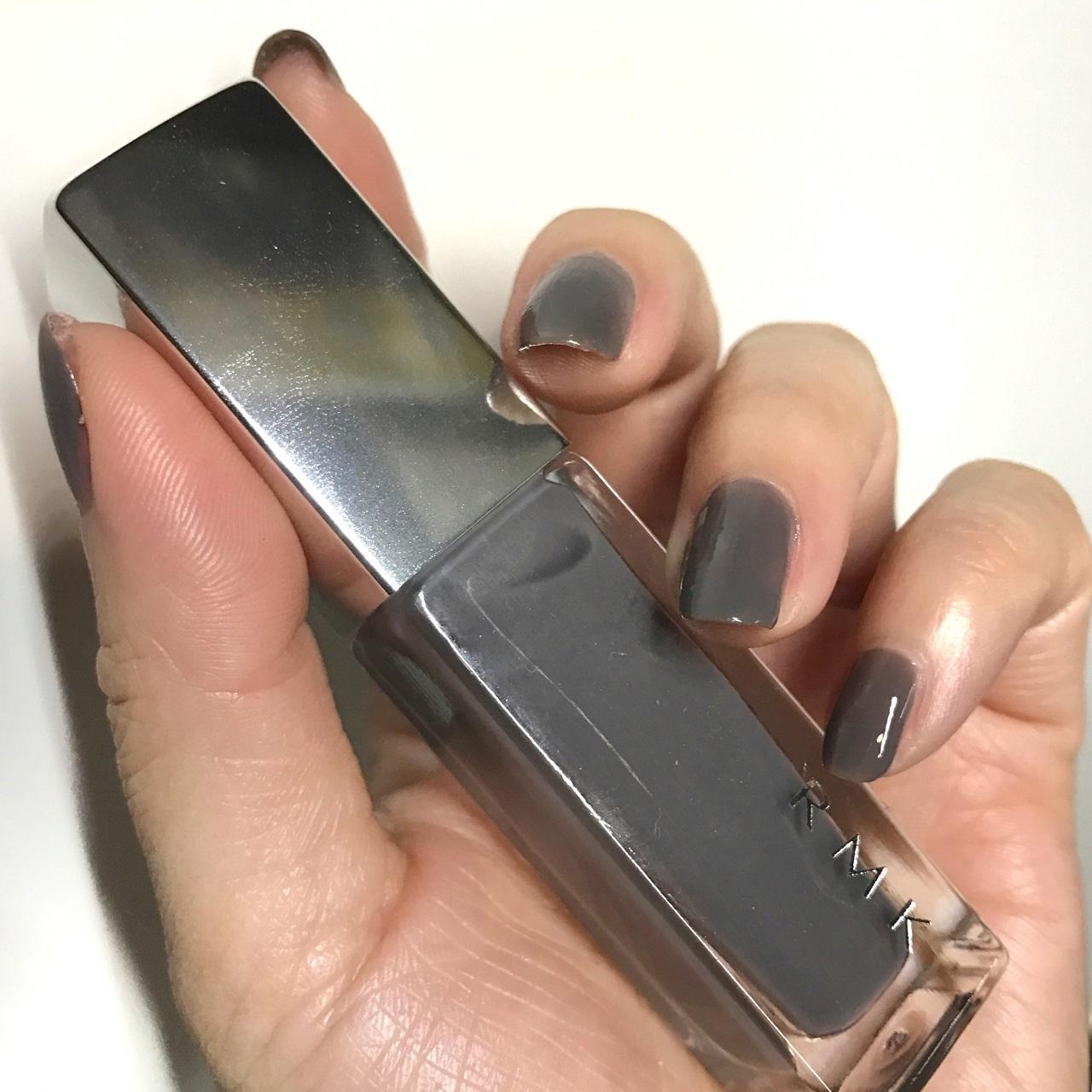 RMK Nail Polish 11(CL) Hushed Violet nail swatch