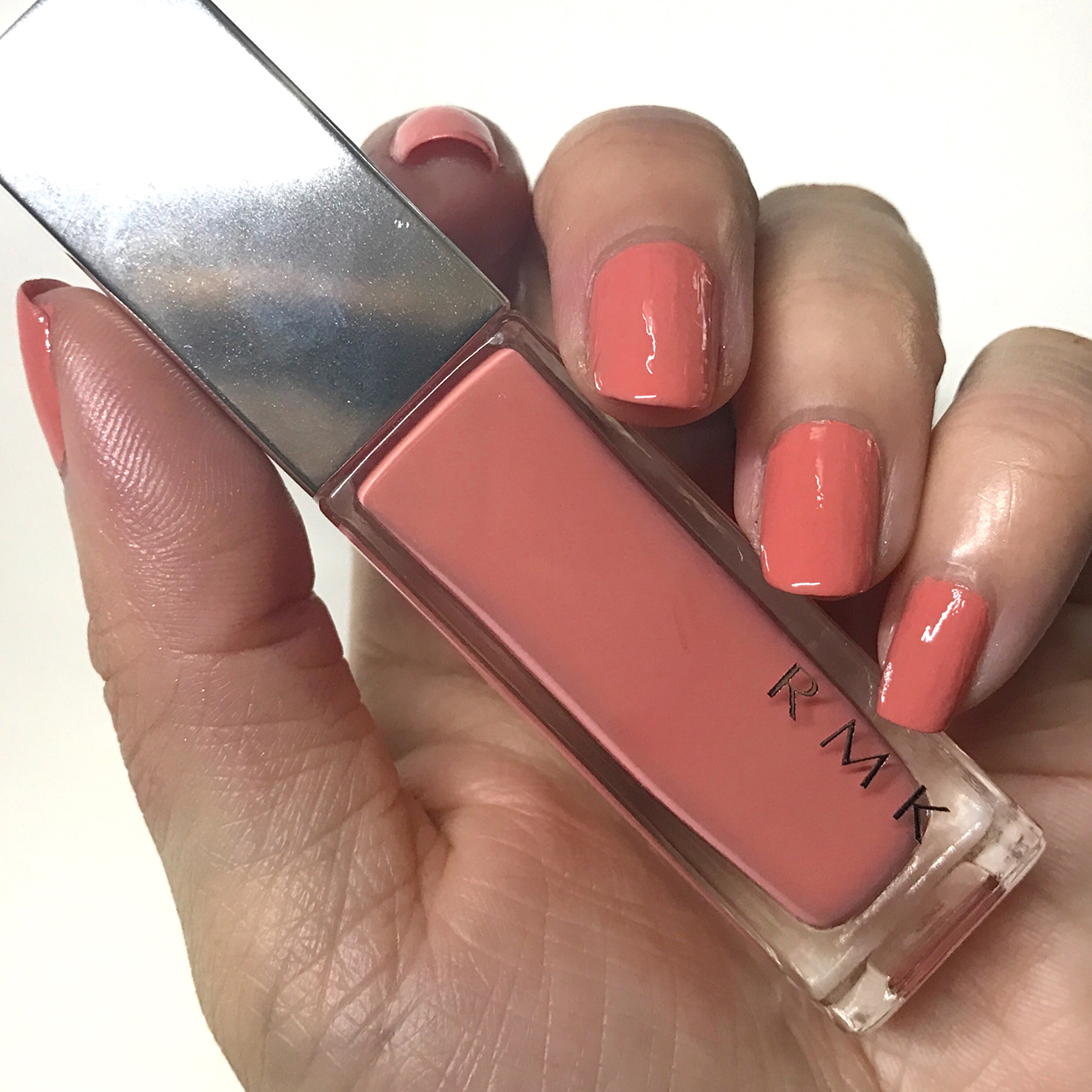 RMK Nail Polish 21(CL) Salmon Pink