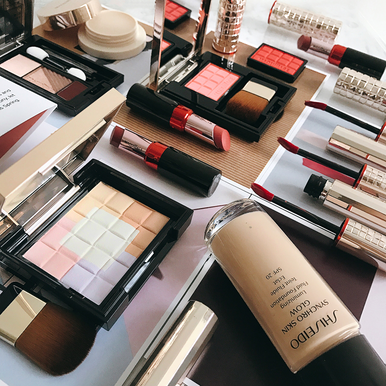 Shiseido Maquillage Spring 2017
