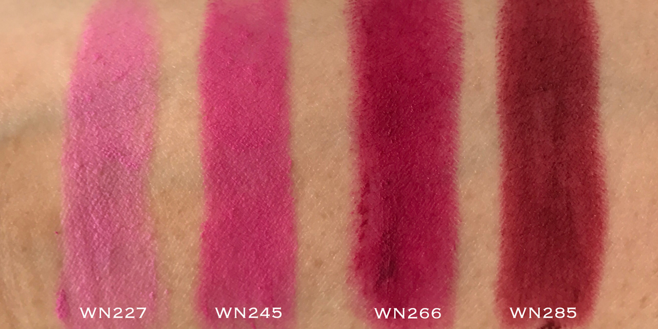 Shu Uemura Rouge Unlimited Supreme Matte - WN swatches