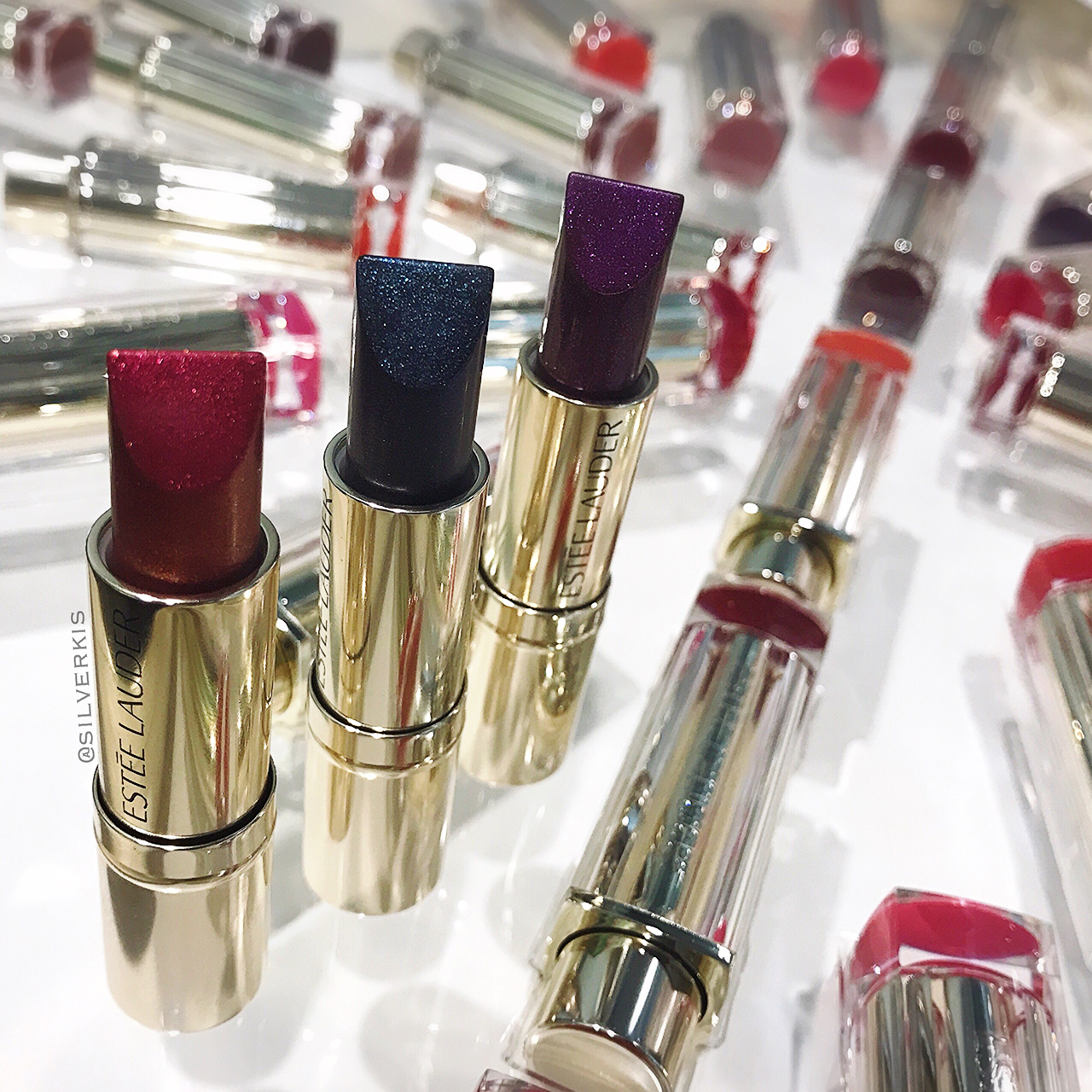 Estée Lauder Pure Color Love Lipsticks - Cooled Chromes