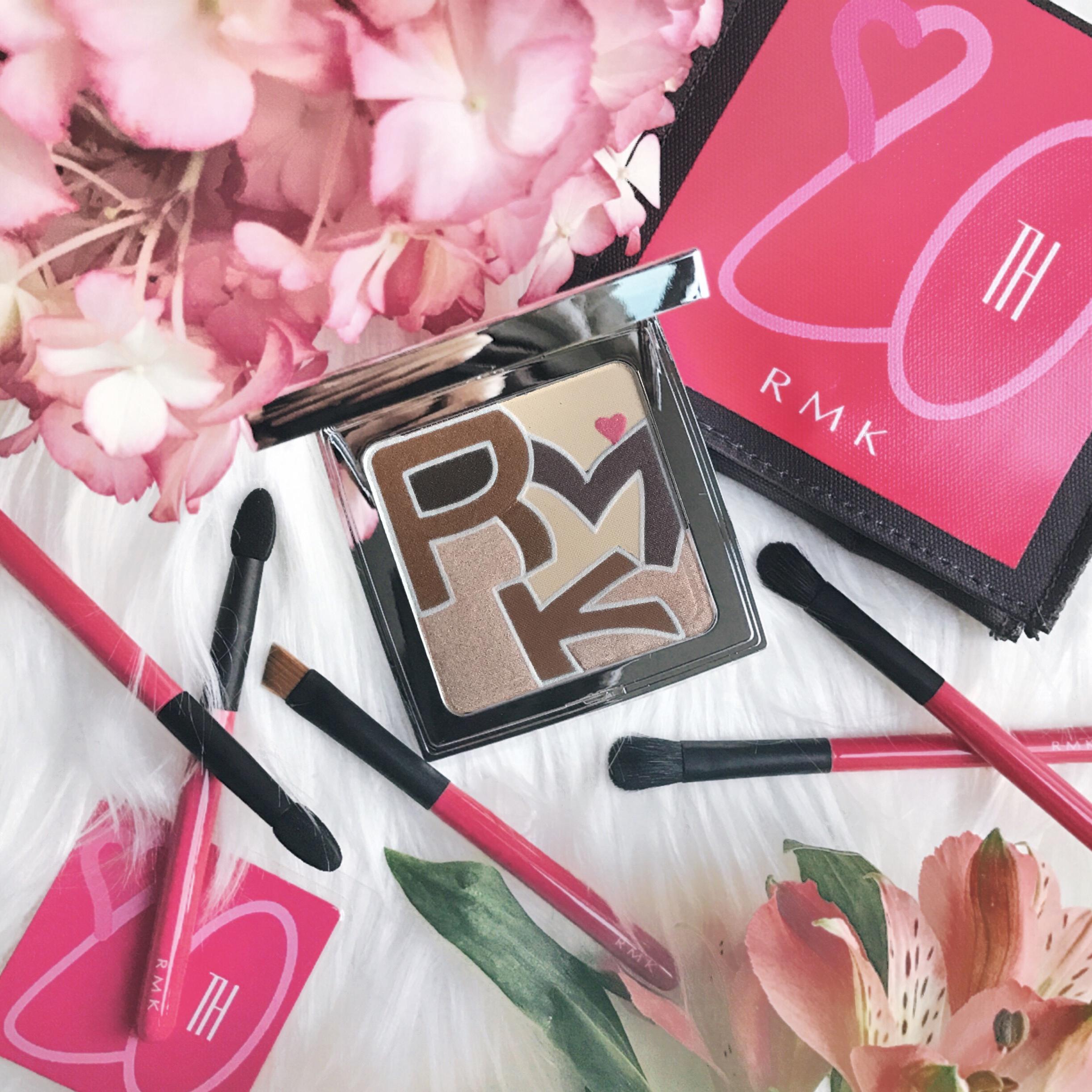RMK 20th Anniversary Eyeshadow Palette & Brush Set