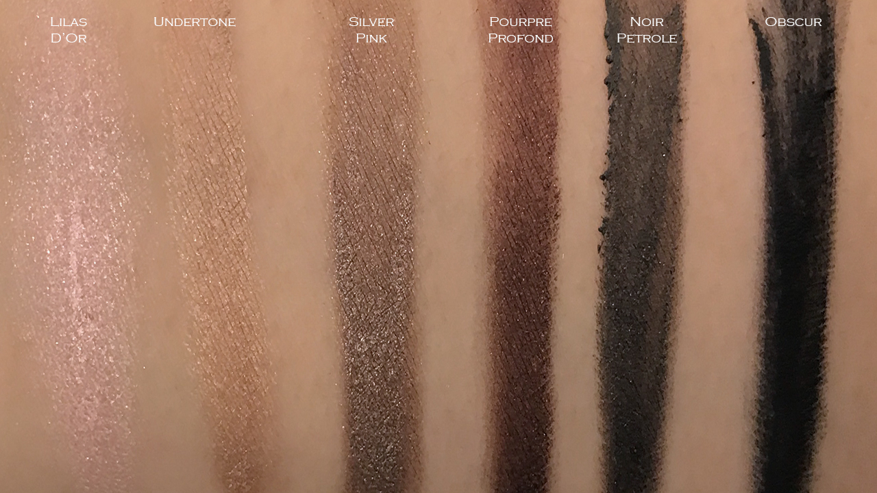 Chanel Ombre Premiere Longwear Cream Eyeshadow swatches