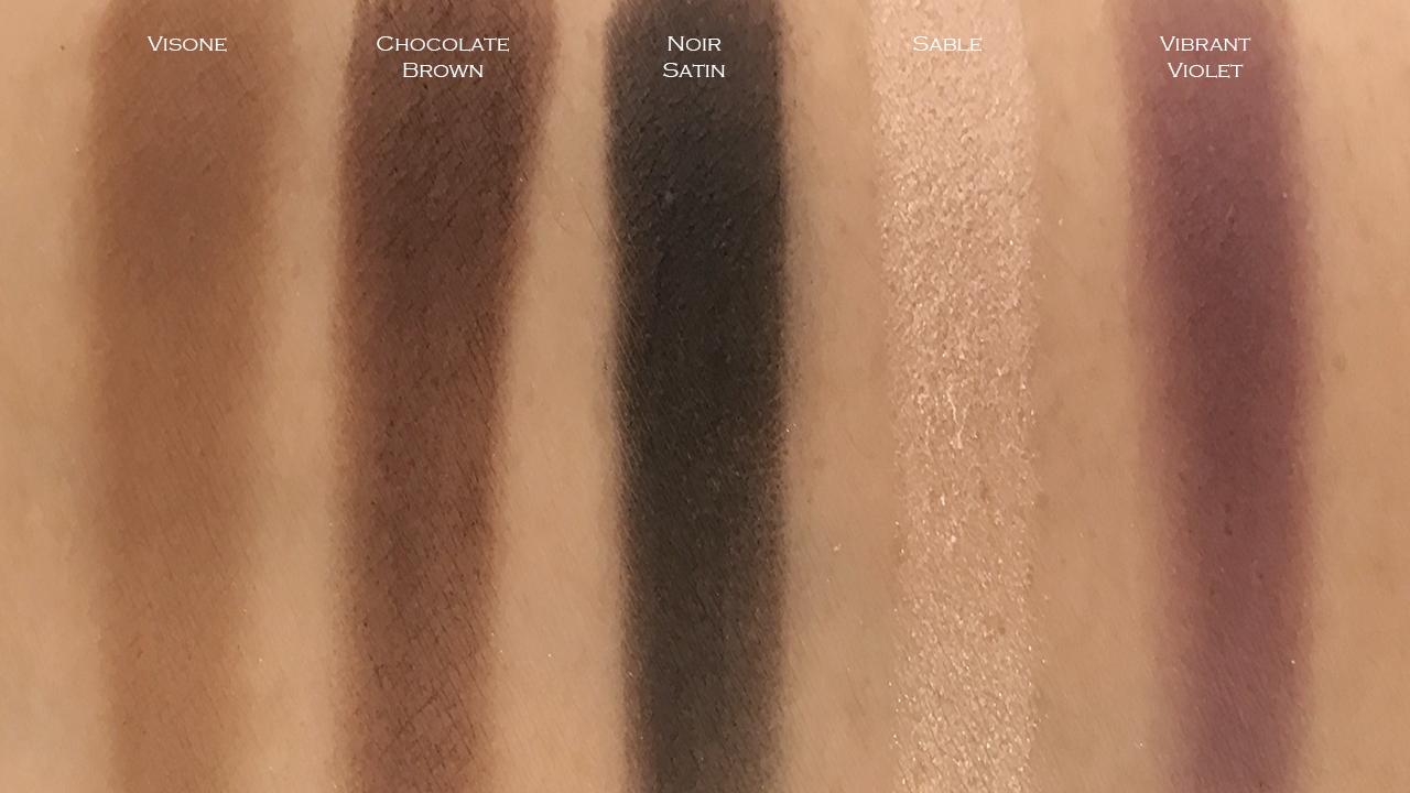 Chanel Ombre Premiere Longwear Powder Eyeshadow swatches 22-30