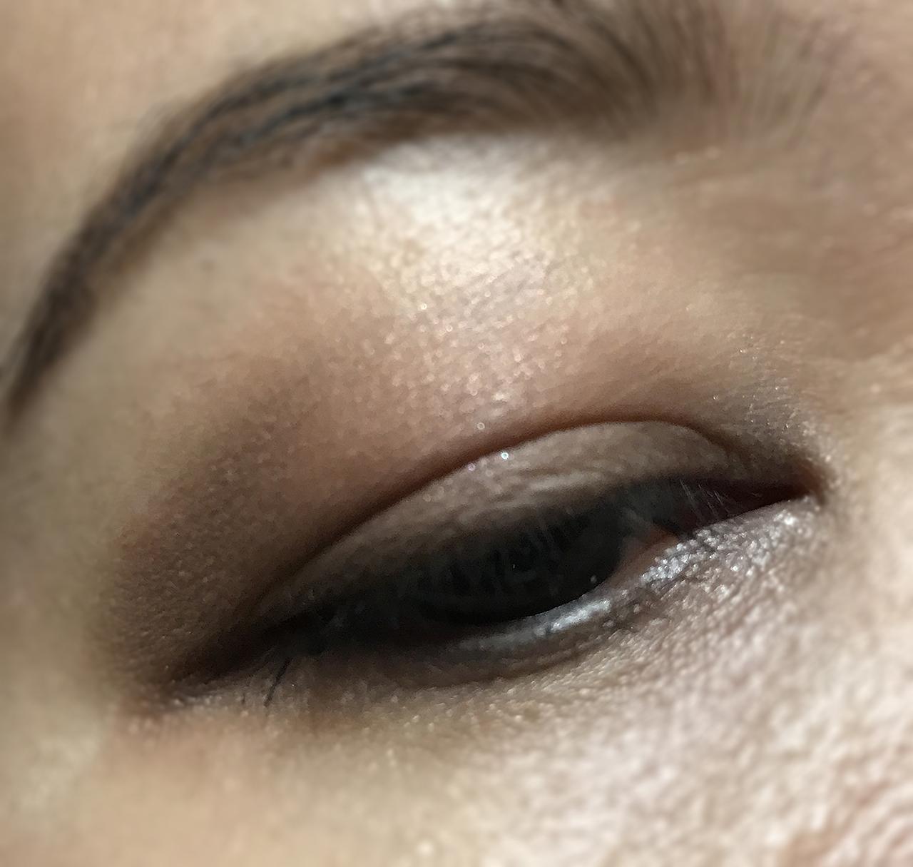 Zoeva The Basic Moment Eyeshadow Palette eye makeup look 1