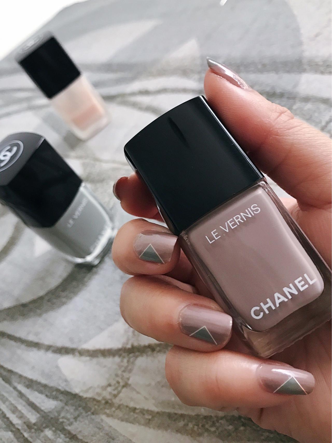 Chanel Fall2017 Travel Diary nailart