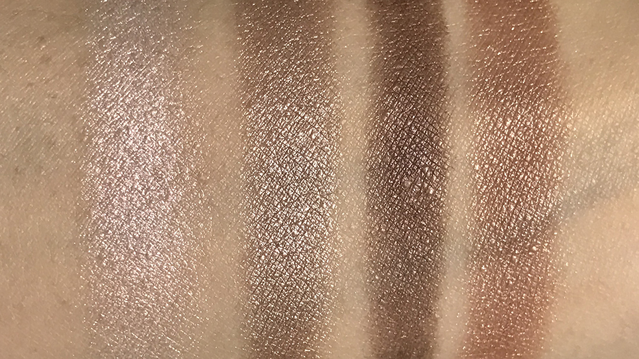 Chanel Les 4 Ombres City Lights swatches