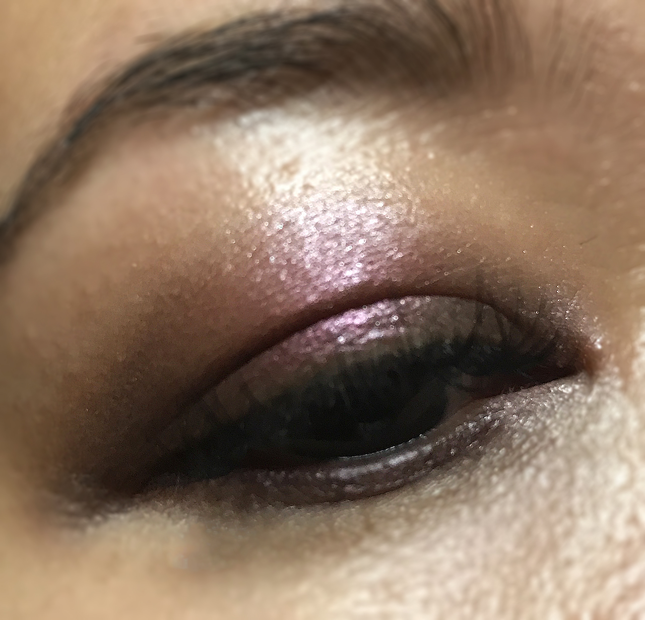 Make Up Store 12 Shades of Pink Palette EOTD