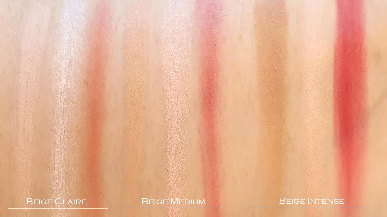 Palette Essentielle swatches