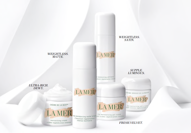 La Mer The Moisturizer family