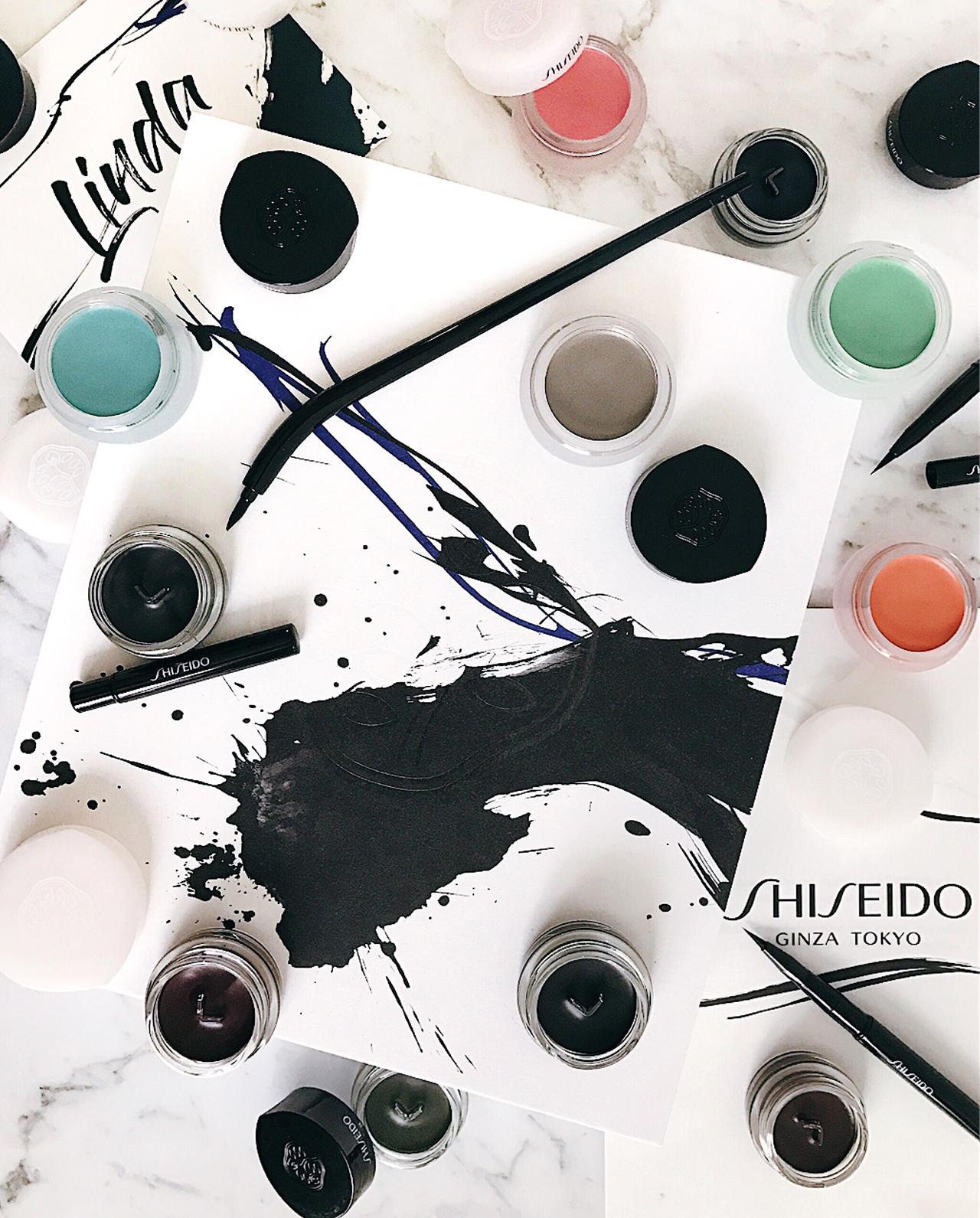 Shiseido Paperlight Cream Eye Color & Inkstroke Eyeliner
