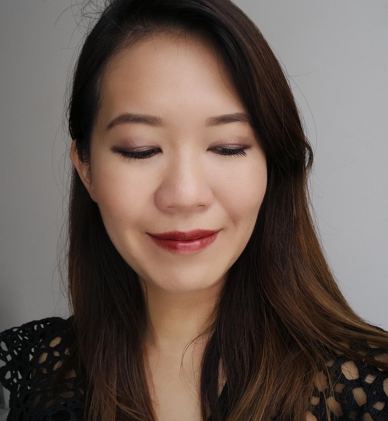 Shiseido Inkstroke Eyeliner makeup look