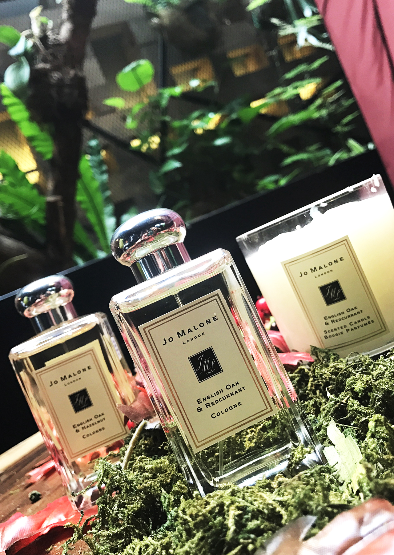 Jo Malone English Oak collection