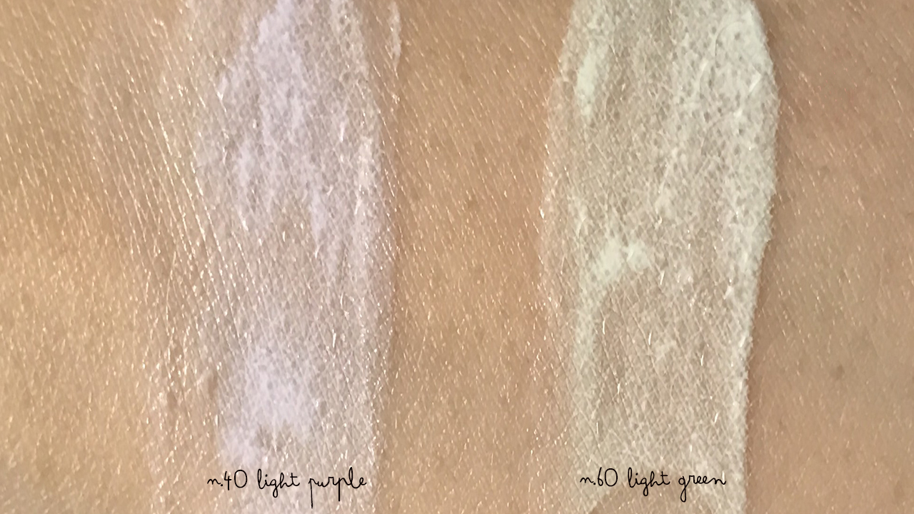 Laneige Skin Veil Base Dot Cushion swatches