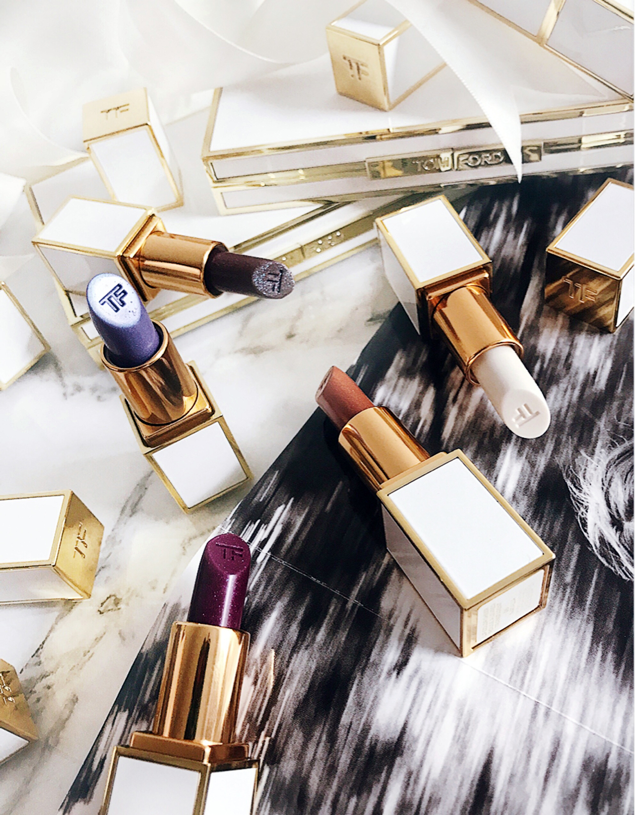 Tom Ford Boys and Girls Lip Color Lily, Isamaya, Nico, Georgie, Natalia