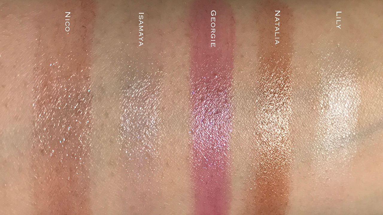 Tom Ford Boys and Girls Lip Color swatches