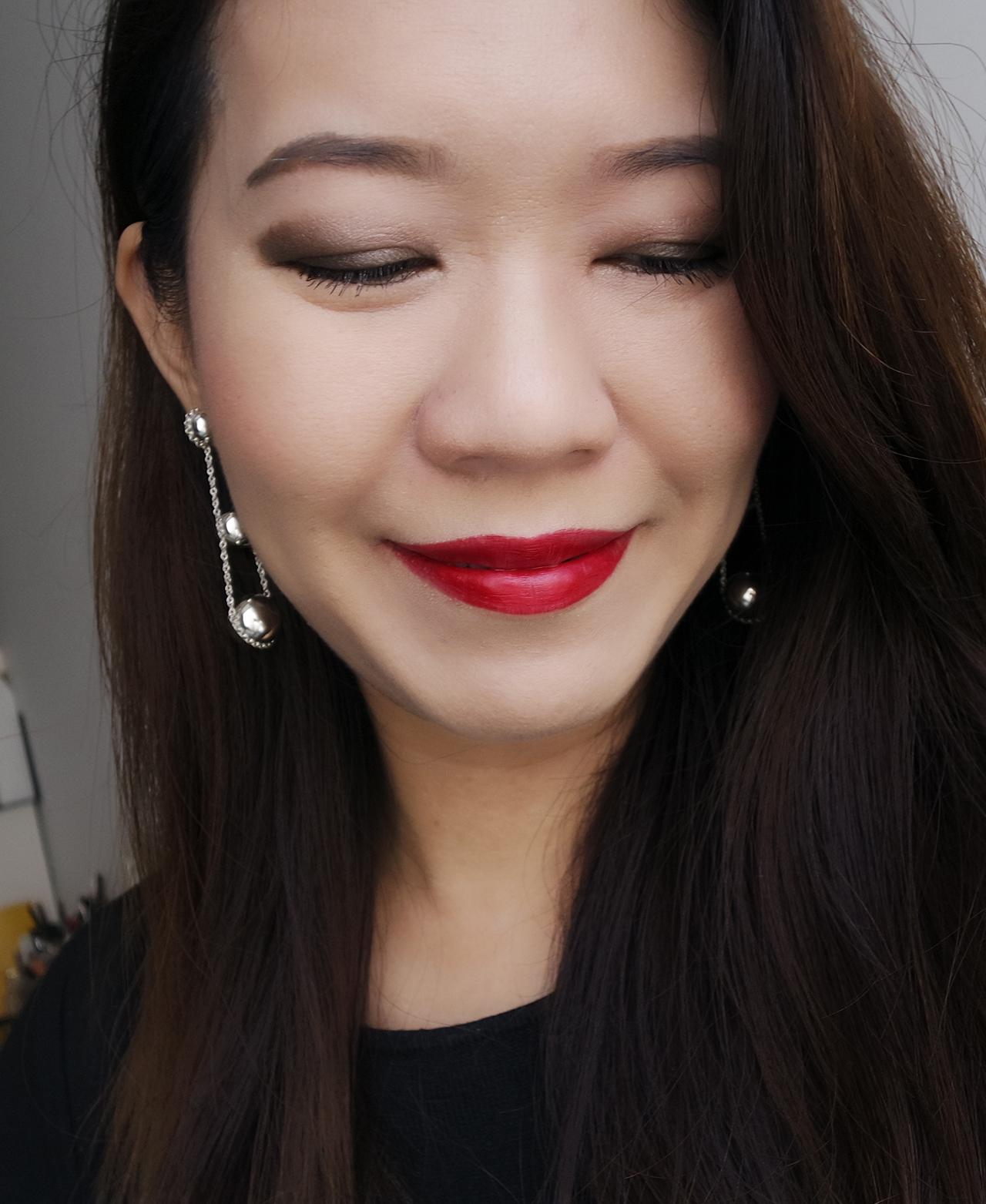 Chanel Collection Libre 2017 makeup look ft Trait de Caractere, Joues Contraste So Close, Rouge Allure 1
