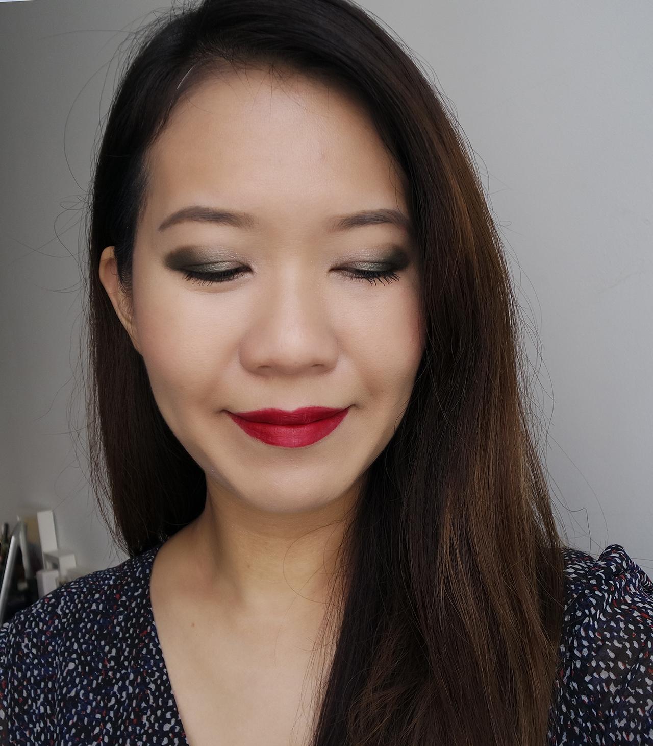 Chanel Collection Libre 2017 makeup look ft Trait de Caractere, Numeros Rouges 2, Joues Contraste So Close