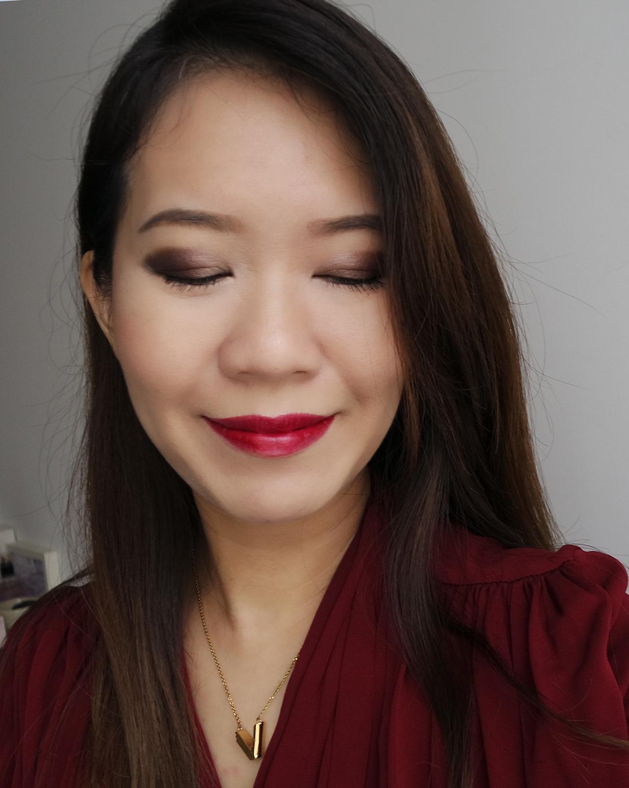 Chanel Collection Libre 2017 makeup look ft Trait de Caractere, Joues Contraste So Close, Rouge Allure Velvet 3