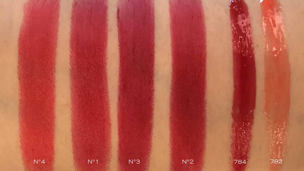 Chanel Collection Libre 2017 Numeros Rouges swatches