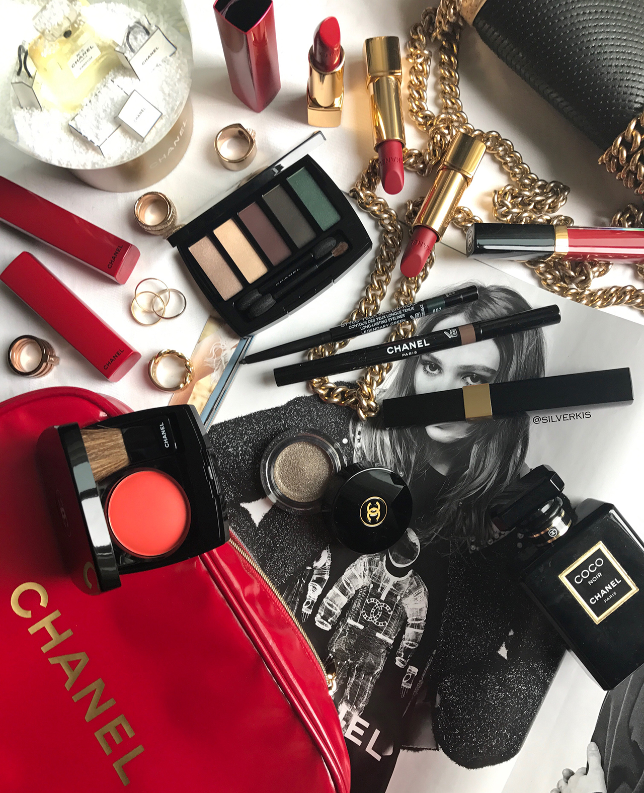 Chanel Collection Libre 2017 Numeros Rouges