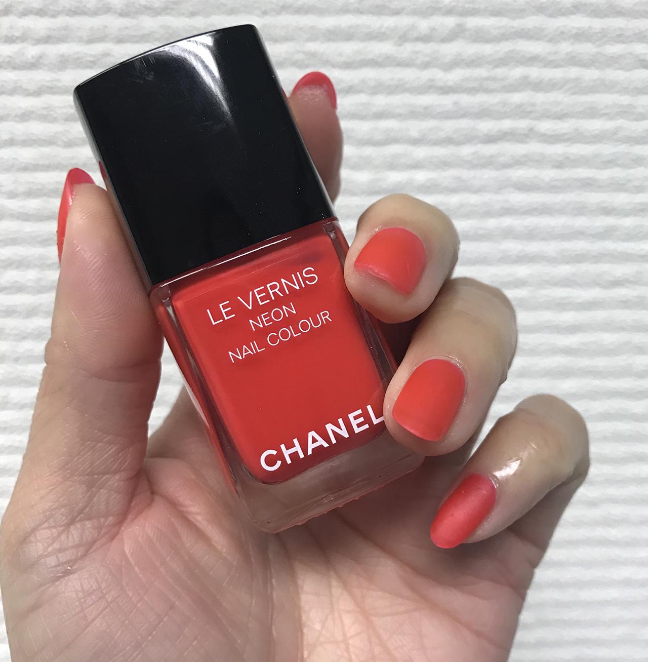 Chanel Le Vernis 604 Scenario
