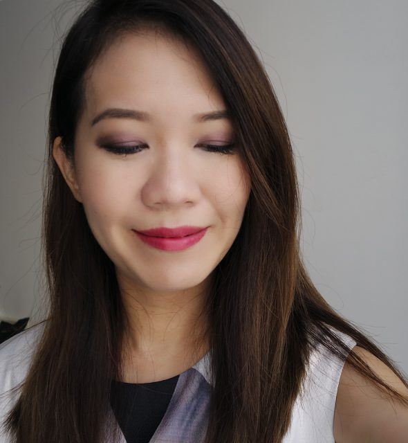 Kanebo Fall 2017 makeup look