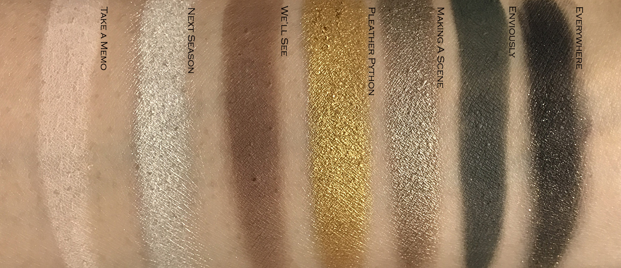 Marc Jacobs Eye-conic Multi-finish Eye Palette Edgitorial swatches