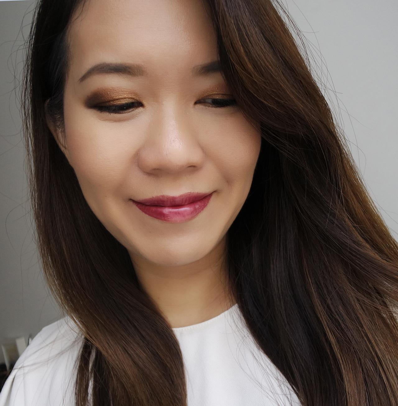 SUQQU Christmas 2017 makeup look
