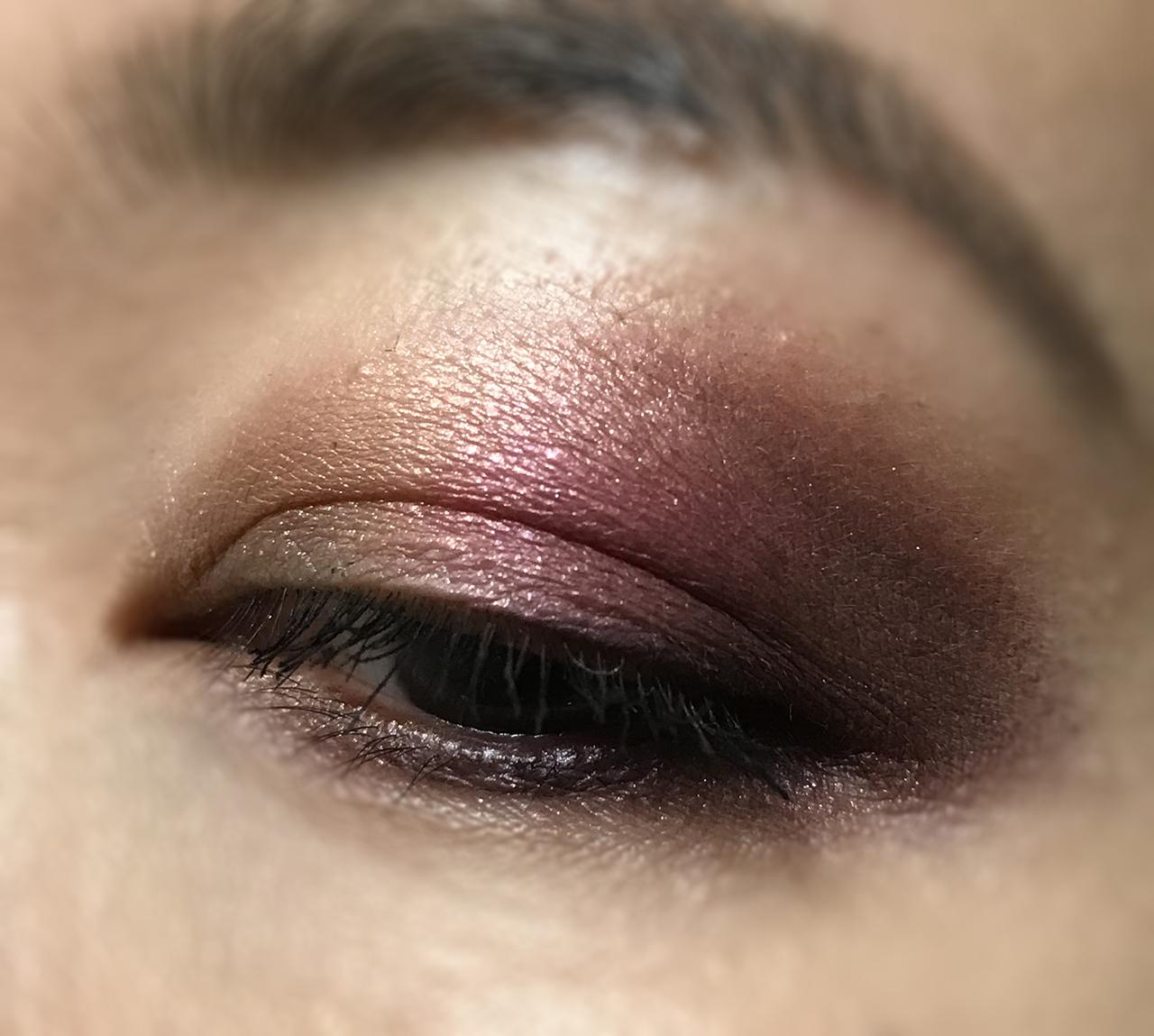 SUQQU Designing Color Eyes 109 Iwaiakari eye makeup