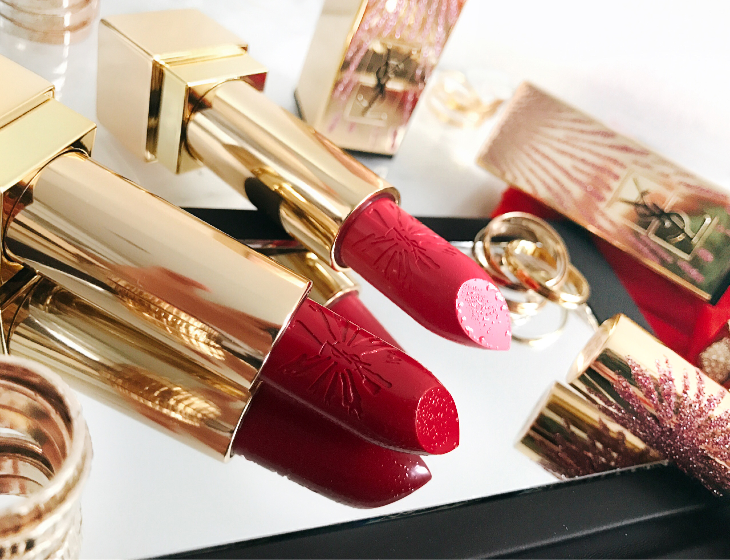 YSL Dazzling Lights Rouge Pur Couture