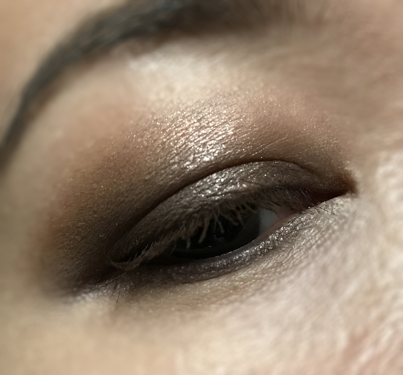 Lunasol Party Eyes Nuance Shiny Brown eye makeup