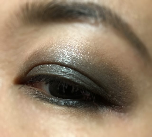 RMK Seductive Love Palette Garden Spirit eye makeup look