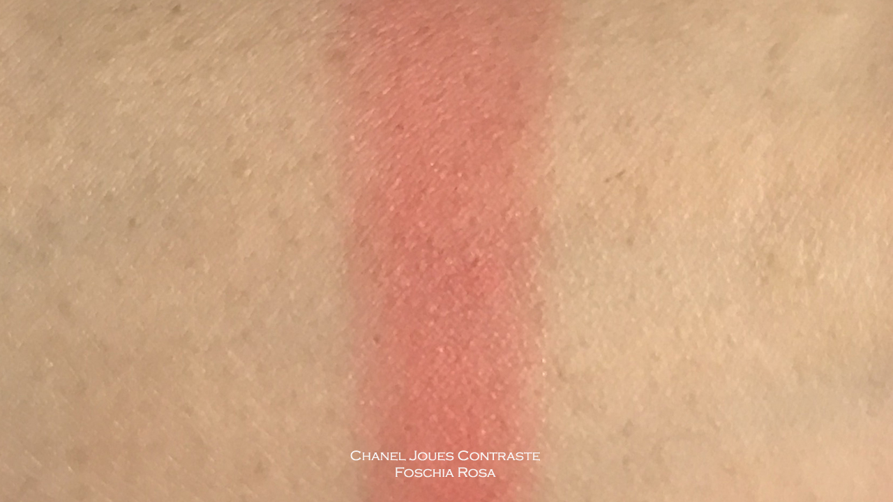 Chanel Joues Contraste Foschia Rosa swatch