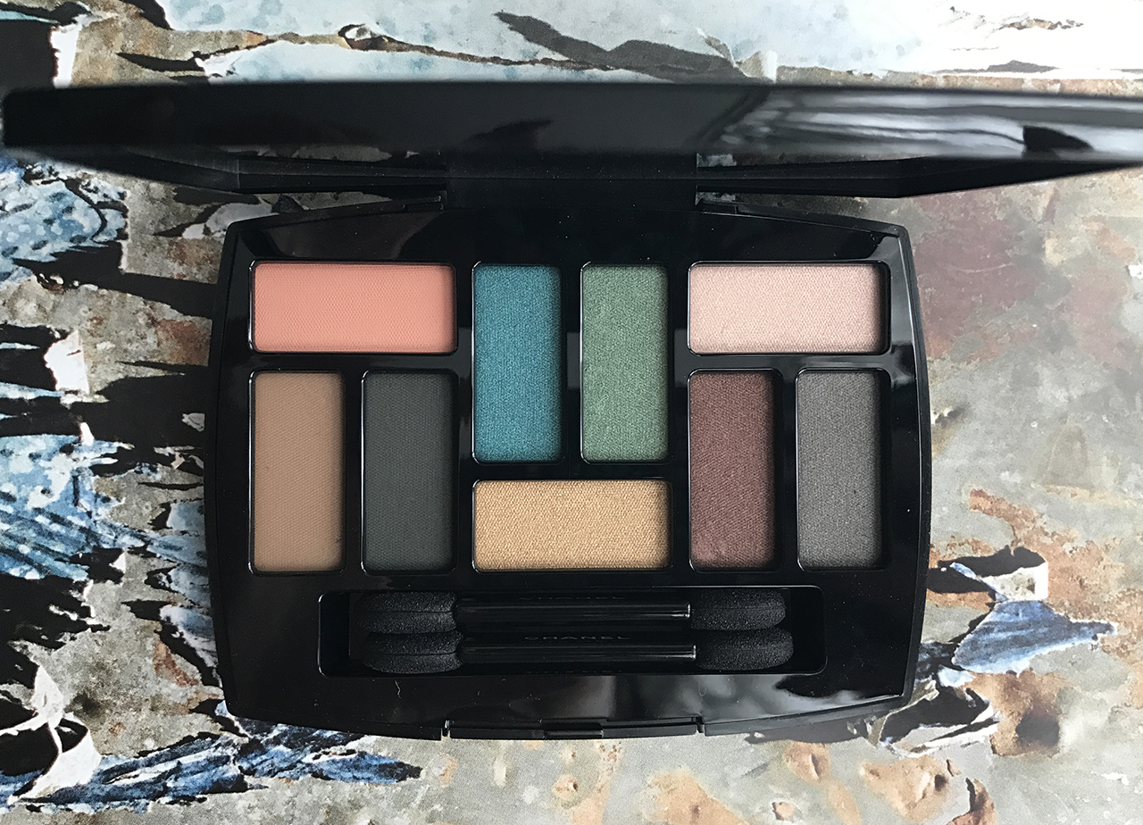 Chanel Les 9 Ombres Palette Edition 1 Affresco from Neapolis Collection for SS2018